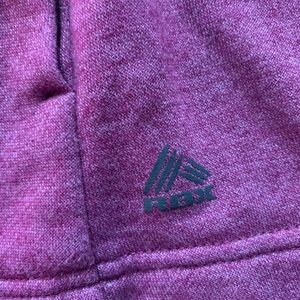 RBX Jackets & Coats - Purple and Black Zip Up Performance Jacket